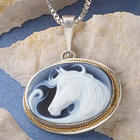 Free Spirit Cameo Necklace