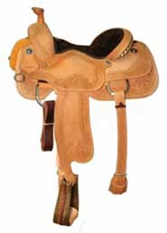 Circle Y XP Hays Roping Saddle Wide 16 Lite Oil