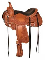 Circle Y Goodnight Monarch Trail Saddle W 16 Oil