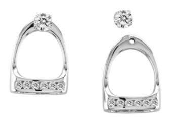 Kelly Herd English Stirrup Earrings