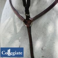 Collegiate Raised Breastplate Martingale Cob
